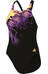 adidas Infinitex + Xtr Swimsuit Women black/solar gold/shock purple f16